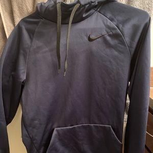 Nike hoodie-navy blue